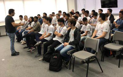 Genova recebe alunos do Senai Santo Amaro e mostra aos jovens o mundo do empreendedorismo