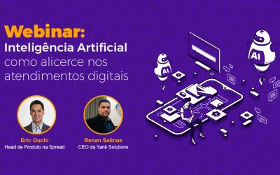 Webinar: Inteligência Artificial como alicerce nos atendimentos digitais
